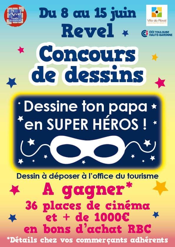 affiche fêtes des pères Revel 2019