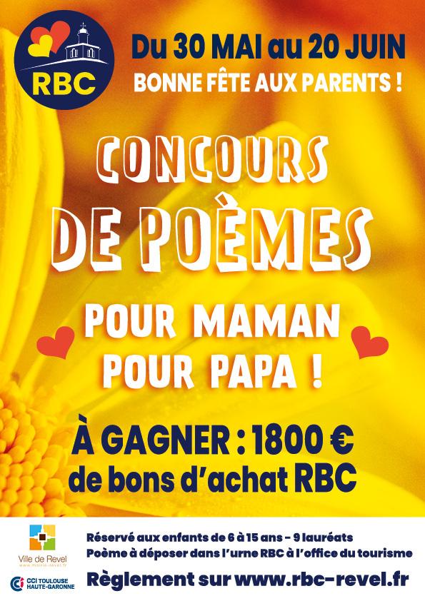 Fêtes des parents, concours de poèmes à Revel