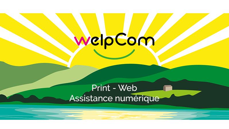 graphisme et site web à revel - welpcom